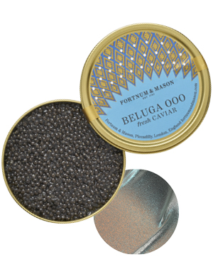 Beluga OOO Caviar, from £225 for 30g, Fortnum & Mason
