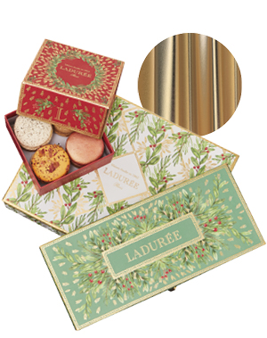 Christmas Gift Box Macarons, from £19.50 for 8, Ladurée