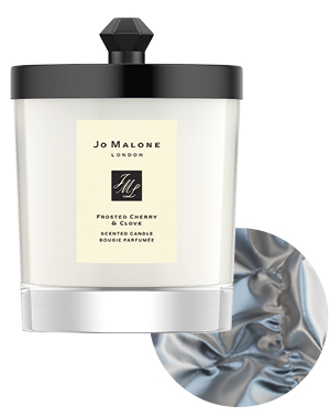 Limited-Edition Frosted Cherry & Clove Home Candle, £52, Jo Malone London