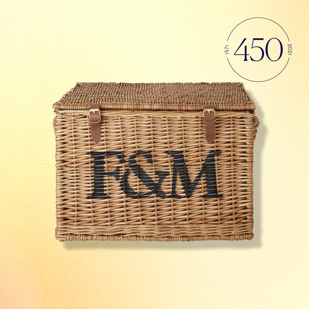 Fotnum & Mason wicker hamper
